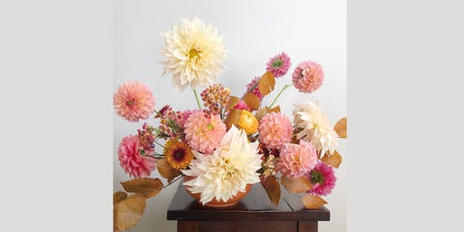 Fall Flower Arranging with Eve Floral Co. and Oakley Wines