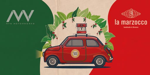 Italian Classics: Cars and Coffee with NVN and La Marzocco Home