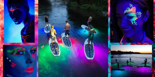 Glow Paddle at The Waterfront