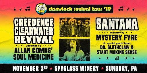 Damstock Revival Tour at Spyglass Ridge Winery! (Sunbury)