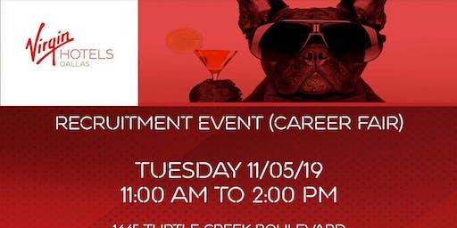 Career Fair - Recruitment Event - Job Fair - Virgin Hotels Dallas