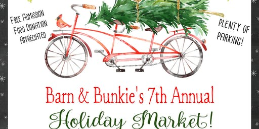 Barn & Bunkie 7th Annual Holiday Sale FREE