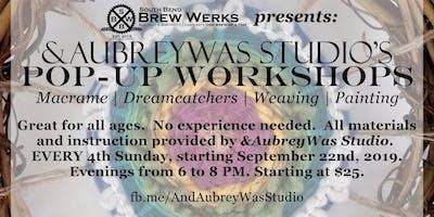 Pop-up Workshop at SBBW: Woven Wreaths