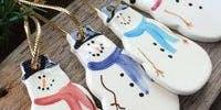Ceramic Christmas Decorations with Ros Ingram