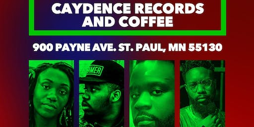 Juice Lord, Jayso Creative, Neak (Chicago), and EL.I.BE Live!