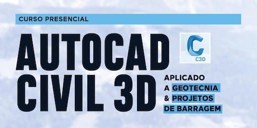 AutoCAD CIVIL 3D - Aplicado a Geotecnia e projetos de barragem