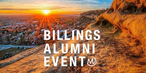 Billings Alumni Event: Public Safety in Billings