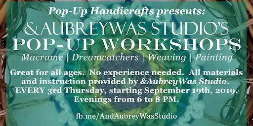 Pop-up Workshop at Pop-Up Handicrafts: Woven Wreath