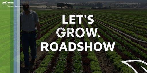 Let's Grow Roadshow - Modesto