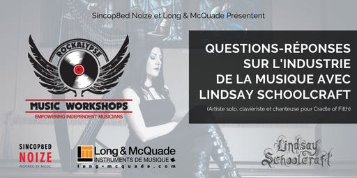 Music Industry Q&A with Lindsay Schoolcraft (Workshop)
