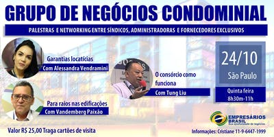 24-10 Grupo de negócios Condominial