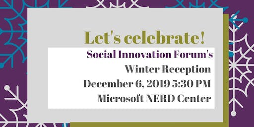 The Social Innovation Forum's Winter Reception