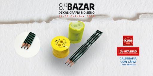 Caligrafía con Lápiz Clase Muestra con Stabilo (8o Bazar)
