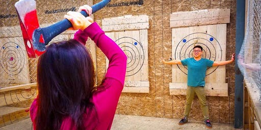 The College Republican Axe Throwing Night
