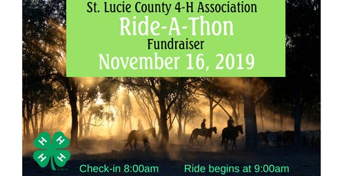 St. Lucie County 4-H Association Ride-A-Thon November 16, 2019