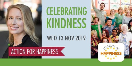 Celebrating World Kindness Day - with Dr Kelli Harding & The Museum of Happiness