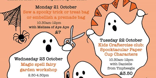 Kids Craftercise club: Spooktacular Paper Cup Char