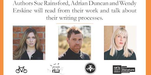 Irish Book Week   Reading   Wendy Erskine, Adrian Duncan and Sue Rainsford
