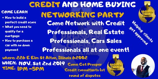 Day Party, Networking, Credit, Car and Home Buying