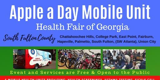 Apple a Day Mobile Unit Health Fair of Georgia Rain Date