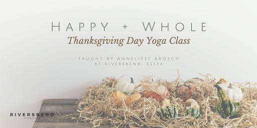 Thanksgiving Day Yoga Class