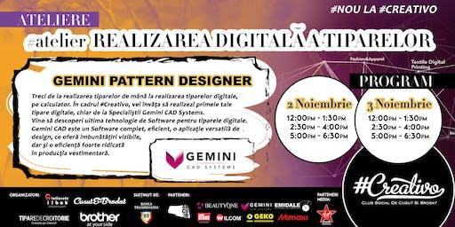 Ateliere de Realizarea Digitala a Tiparelor la #Creativo de Toamna 2019