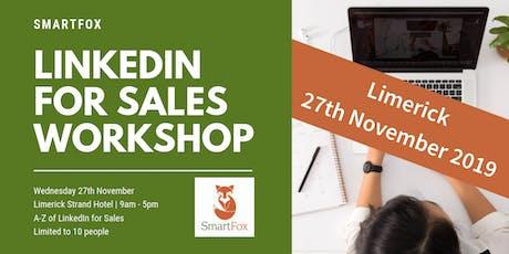 LinkedIn for Sales Full Day Training Workshop | Limerick City | 27 November tickets