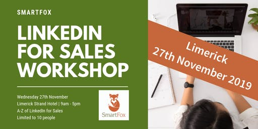 LinkedIn for Sales Full Day Training Workshop | Limerick City | 27 November