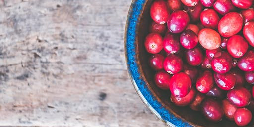Kids' Cooking Class- All things Cranberry!