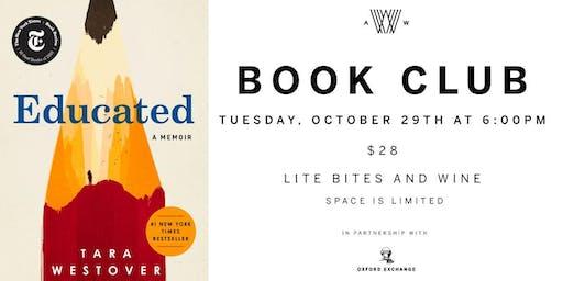 Armature Works Book Club - October 29