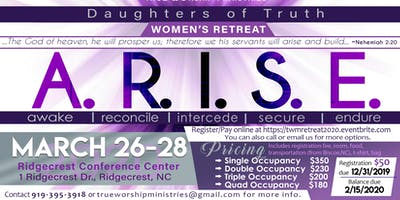 Daughters of Truth A.R.I.S.E. Women's Retreat