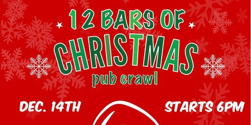 12 Bars of Christmas Charity Pub Crawl