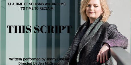THIS SCRIPT by Jenny Lindsay tickets
