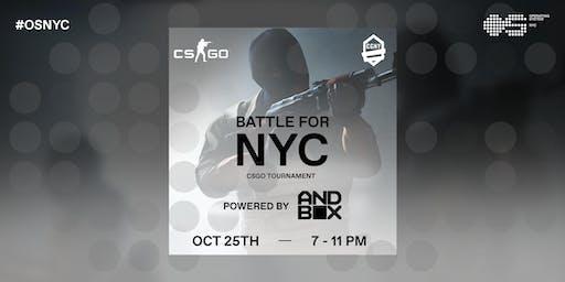 CS:GO Tournament: Battle for NYC!