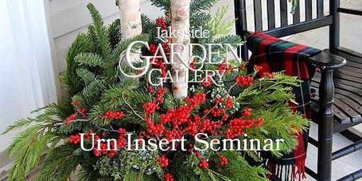 Lakeside Garden Gallery Urn Insert 2019