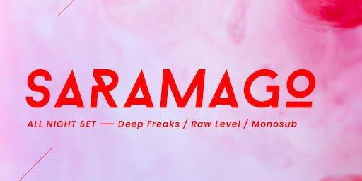 Saramago | Bang Venue | Clubbing