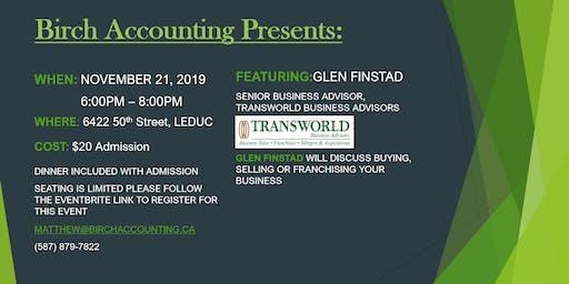 Birch Accounting Speaker Series - Glen Finstad