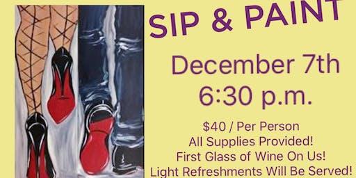Sip & Paint - Fun for Everyone!