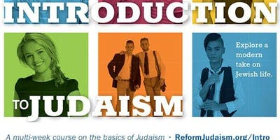 Introduction to Judaism at Temple Sinai