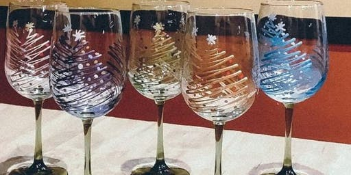 Holiday Wine Glass Painting! 11/17