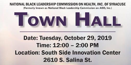 Black Health Townhall- Syracuse