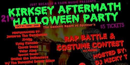 Kirksey Aftermath Halloween Party