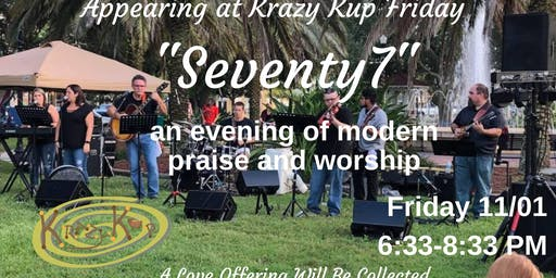 An evening of Worship with Seventy 7