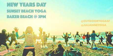 NEW YEARS DAY! [Silent Disco] Beach Yoga with Julianne Aiello tickets