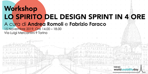 Wud Torino Workshop: Lo spirito del Design Sprint in 4 ore