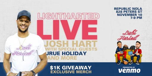 Lightharted Podcast with Josh Hart (special guest Jrue Holiday)