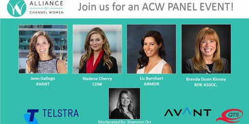 Join us for a ACW Panel Event! Hosted by ACW, AVANT, Telstra & QTS