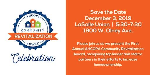 AHCOPA Community Revitalization Award Party