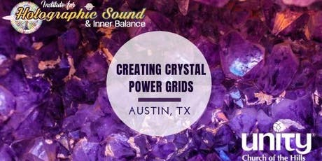 Learning to Create Crystal Power Grids Workshop tickets