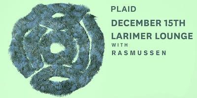 PLAID / Rasmussen